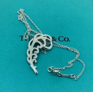 Tiffany & Co Pendant with Chain NWOT